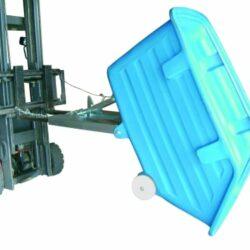 CONTENTOR BASCULANTE PVC 750LT ND